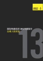 国际特赦组织 2013 年度报告(全球人权状况)