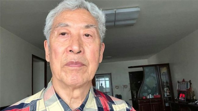 山东大学退休教授孙文广被关黑监狱,上周获释。(志愿者提供/记者乔龙)