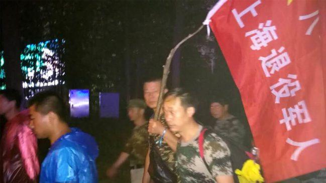 镇江老兵抗议事件升级 现场网络、电话信号遭屏蔽