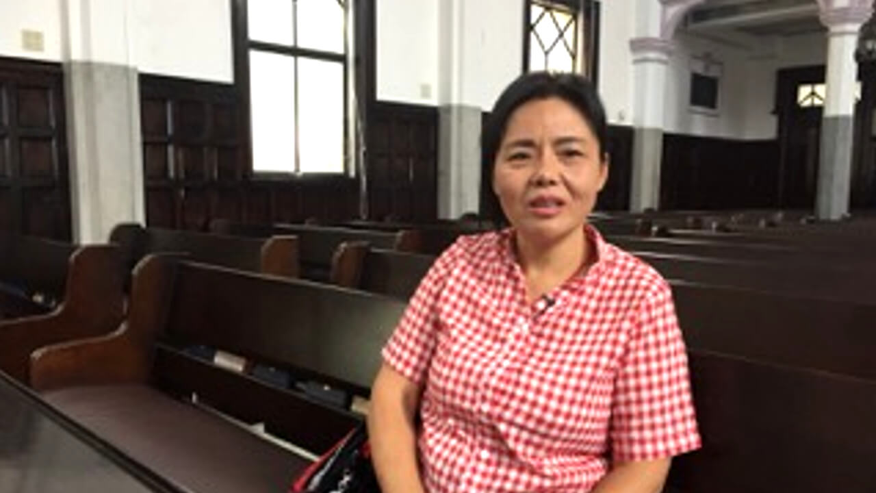 台湾基督长老教会总会,提供黄燕三个月生活、医疗安置。(记者 黄春梅拍摄)