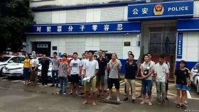 深圳佳士建工会工人声援团继续抗争促放人