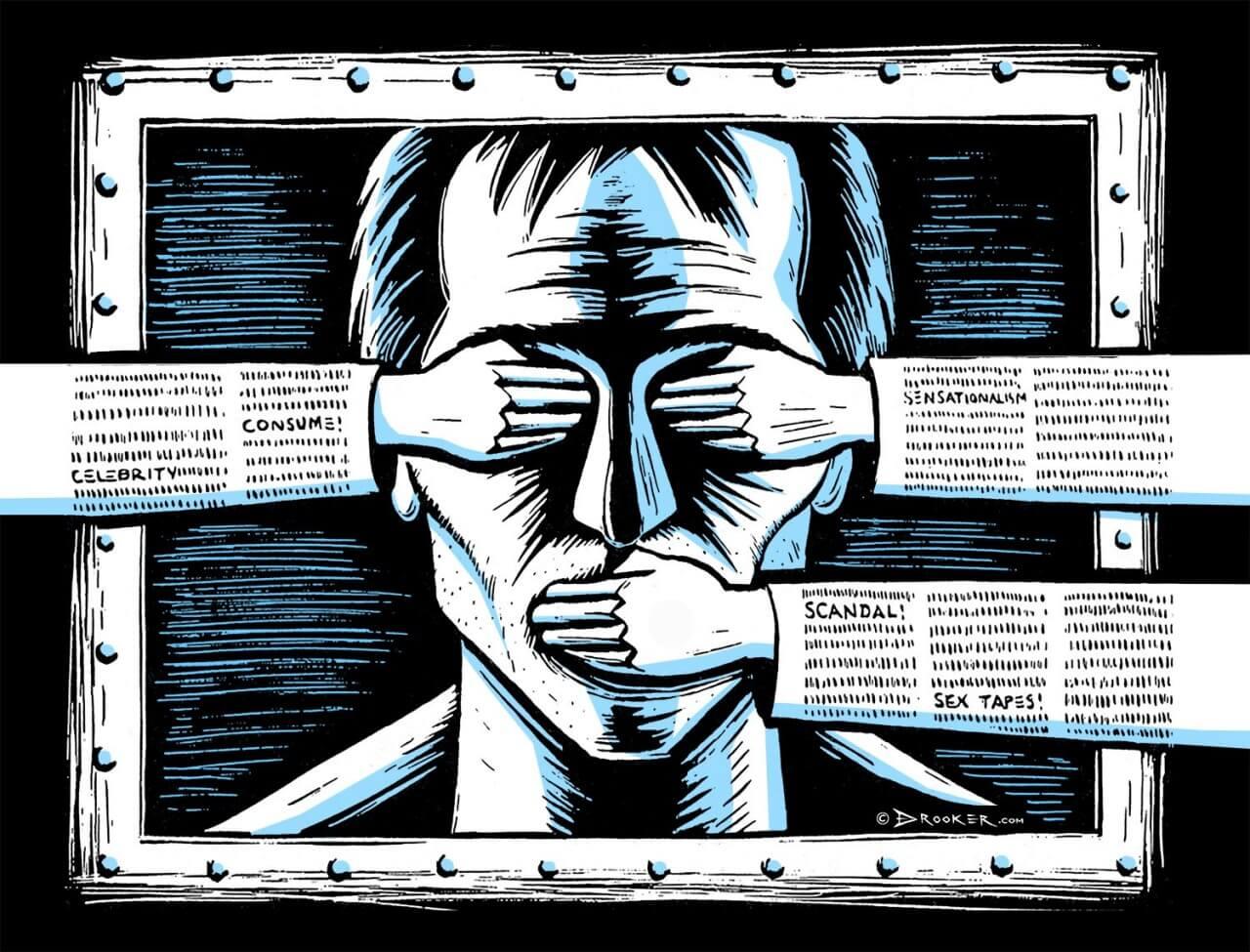 """官方推运动式""""舆论监督"""" 传媒沦为当权者打手"""