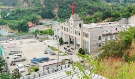 河南省当局拆毁一三自教堂