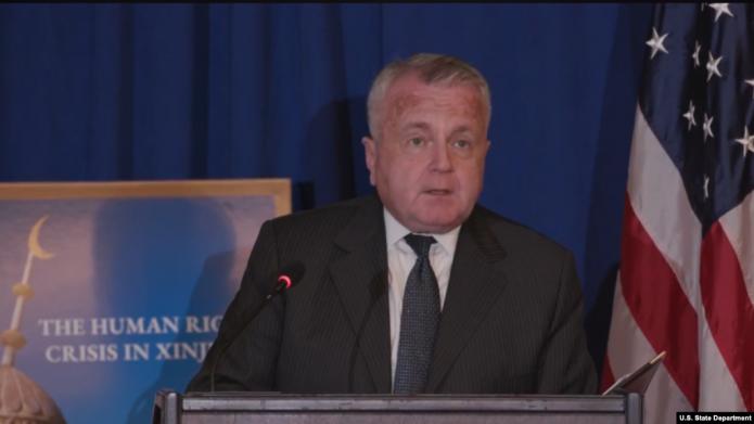美国联合英德荷加应对新疆人权危机