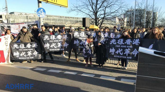 港版国安法伸出长手 海外港人誓言捍卫言论自由