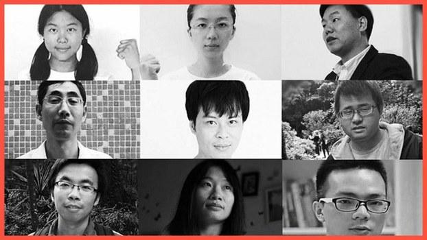 """2019回首: 中国""""被失踪""""人权活动者"""