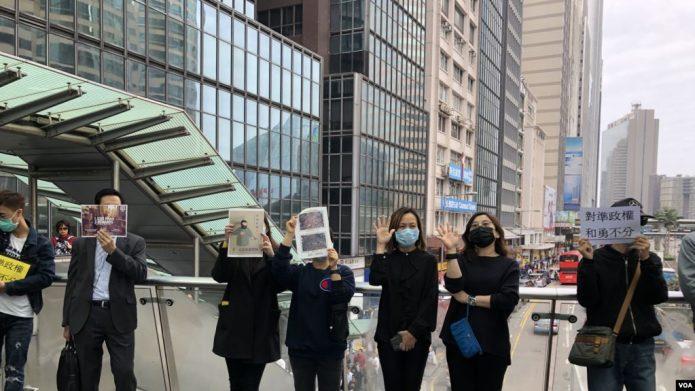 """香港勇武派""""退出""""抗争一说引关注"""