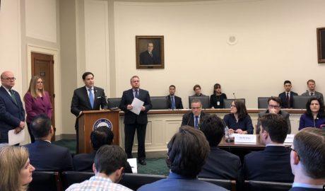 美国国会暨行政当局中国委员会(CECC)2020年3月11日就维吾尔强迫劳动问题召开讨论会
