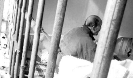 一名84岁的上访者曾被关押在山东新泰市精神病院