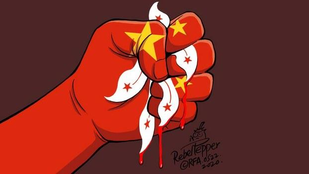 现场直播:北京宣布港版国安法后 网民发起首次游行