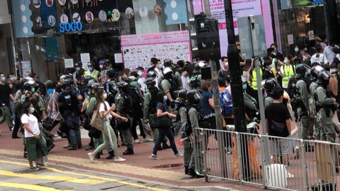 """香港各界回应人大通过 """"港区国安法""""决定 李柱铭不接受中共全面管治"""