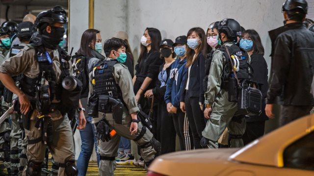 北京强推香港国安法 美国会两党推法制裁中共官员
