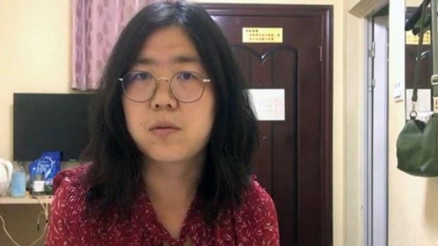 公民记者张展报道武汉肺炎被刑事拘留
