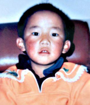 班禅喇嘛根敦确吉尼玛(Gedhun Choekyi Nyima)小时候的照片