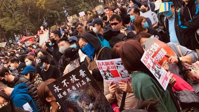 香港反送中运动一周年 各界示威者回顾