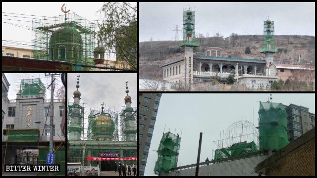 平凉市多处清真寺遭整改
