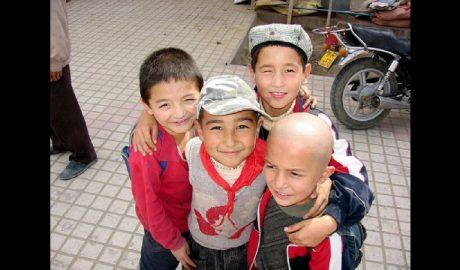 维吾尔孩子