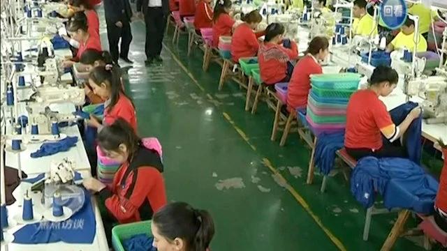 新疆工厂甚至雇用未成年人