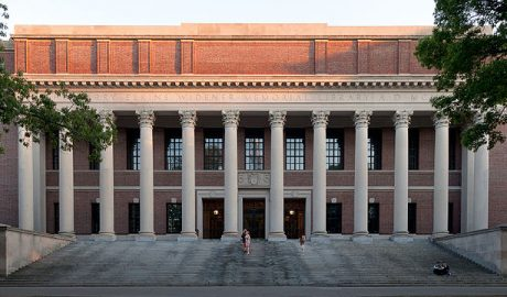 哈佛大学内怀德纳图书馆