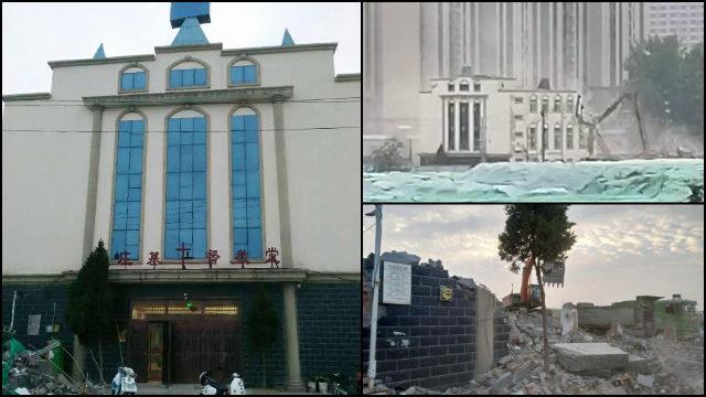 断信徒恢复聚会念想    一月内多省接连暴力强拆基督教堂