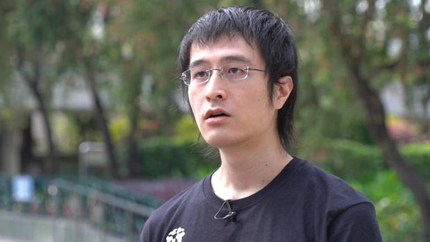 民间组织香港故事成员李宇轩疑因潜逃台湾失败,正被广东公安扣押。