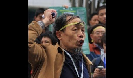 湖南人权捍卫者朱承志在海外发文批评时政后,8月7日被判刑3年6个月。