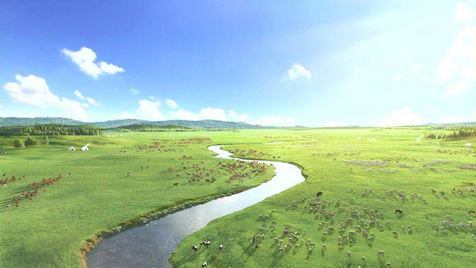 内蒙古牧民上街游行抗议草原养猪破坏环境