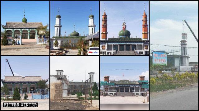 宁夏各地区清真寺遭整改