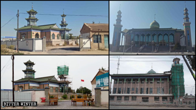 西夏区兴泾镇两处清真寺被整改