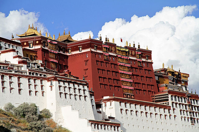 西藏拉萨布达拉宫