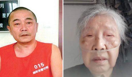 """左图:被中国当局以""""泄密""""罪名判处12年监禁的""""六四天网""""负责人黄琦,被羁押以来一直被禁止与外界接触。右图:87岁、身患多种严重疾病的蒲文清(图)形容自己来日无多。(蒲文清提供,拍摄日期不详)"""