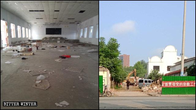 真耶稣教堂被强拆