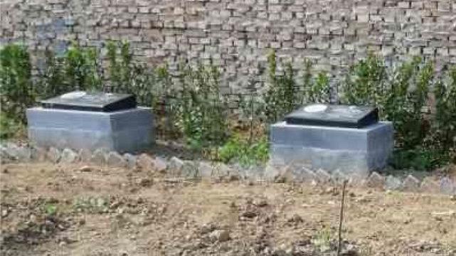 解州镇在华宣教士墓碑