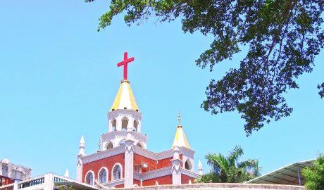 中国一所基督教堂