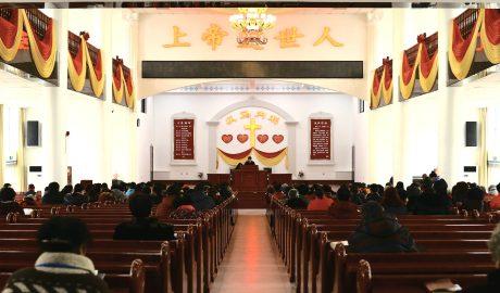 中国一座教堂
