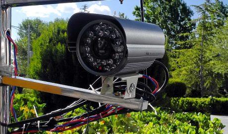 中国电子监视