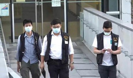香港新成立的国安局警察